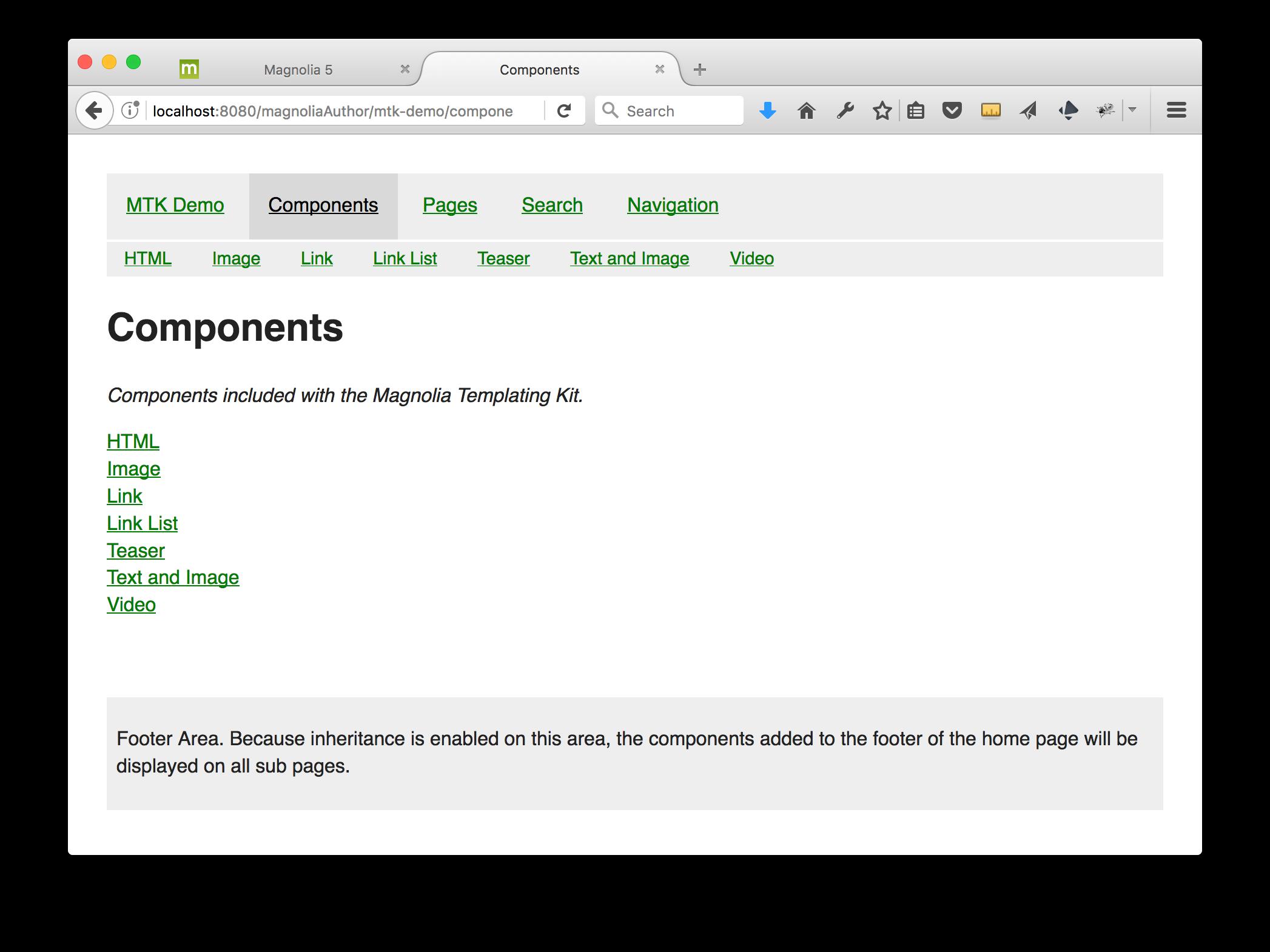 Browse Christopher Zimmermann / mtk-demo - Magnolia Bitbucket